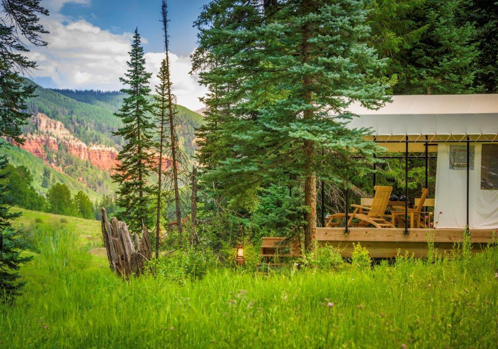 Dunton River Camp, Colorado.
