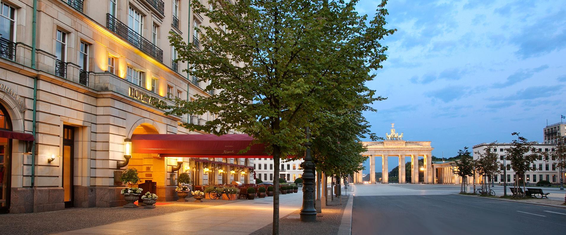 Adlon kempinski hotel geoffrey weill associates for Designhotel brandenburg